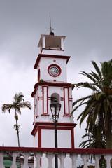 clock tower Puebla Mexico