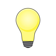Light Bulb Object Illustration