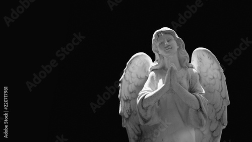 angel of death as a symbol of the end of life (religion, immortality