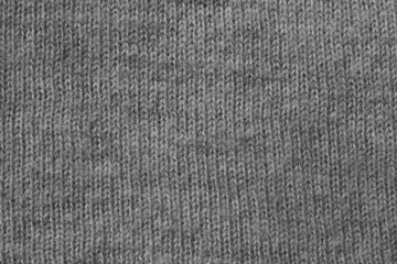 Gray knit texture background