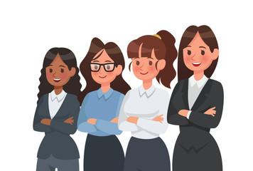 Businesswoman character vector design