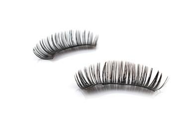 Eyelash used on white background