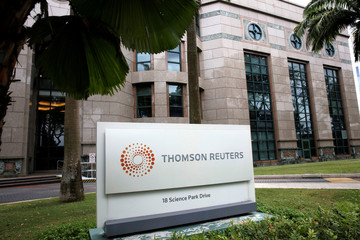 The Thomson Reuters office in Singapore
