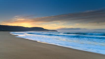 Seascape - Sun Rising at the Beach