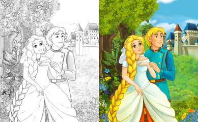 19 Unique Rapunzel Tower Coloring Page | 240x388