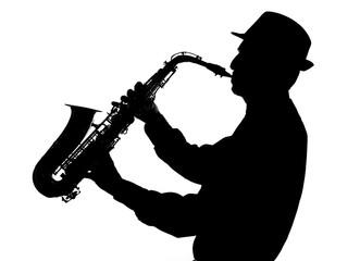 jazz saxophonist shape