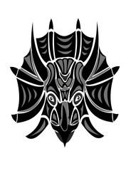 Triceratops logo dinosaur emblem № 2