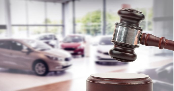 Gavel and cars auction