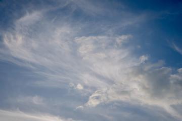 Clouds in the sky rainy season.