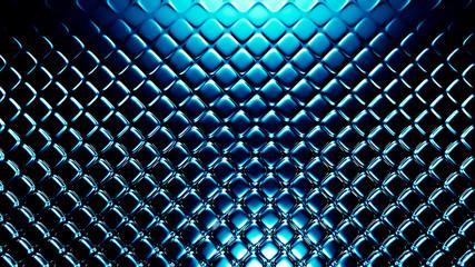 Turquoise metallic industrial grunge background. 3d illustration, 3d rendering.