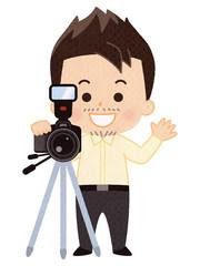 カメラマン 男性