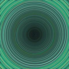 Spirale en vert