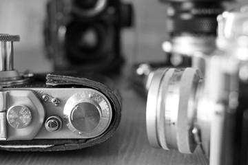 Film old-fashioned cameras