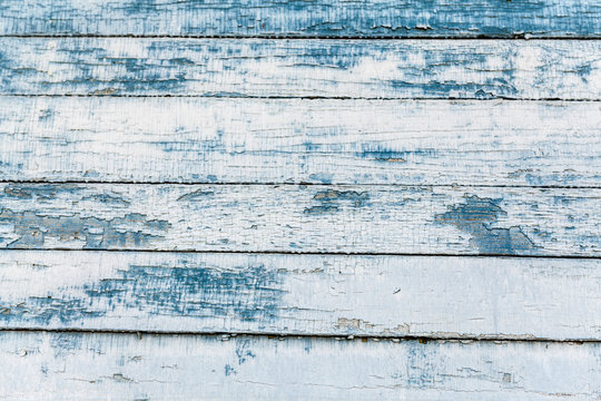 old painted colorfull horizontal wood plank background