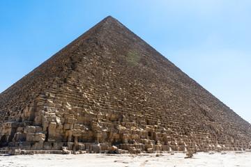 Giza, Cairo, Egypt - Cheope Pyramid.