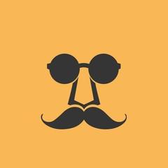 PrintGlasses mustache face