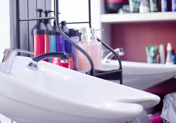 Beauty salon head wash