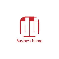 Initial Letter DJ Logo Template Design