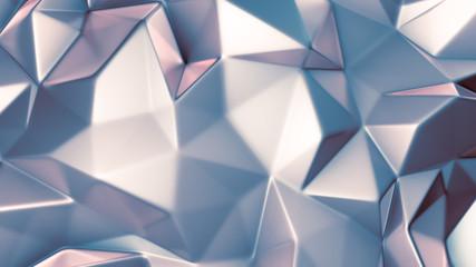 Purple crystal background. 3d illustration, 3d rendering.