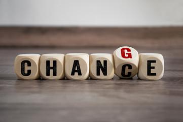 Chance Change Wechsel Veränderung