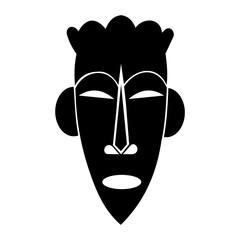 African mask design