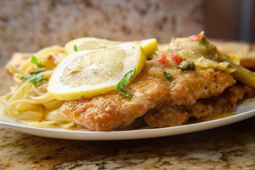 Chicken Piccata Linguine