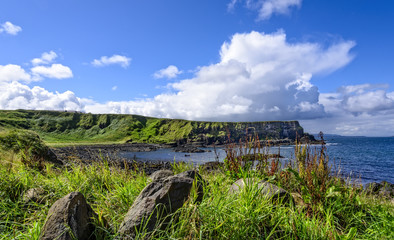 Antrim Coastline in Northern Ireland