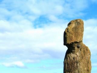 Eastern Island. Moais of Rapa Nui - Chile
