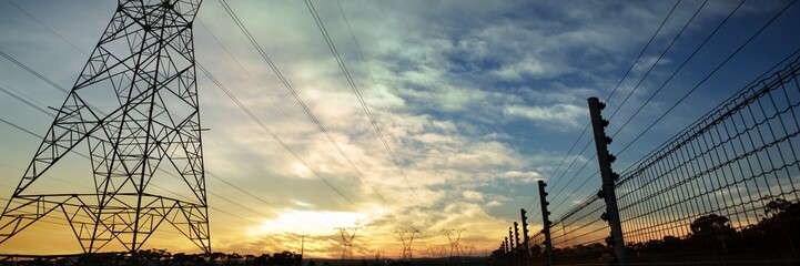 Composite image of cloudy sky landscape