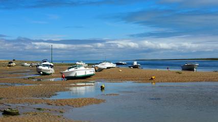 Ile de Ré, Frankreich: Gestrandete Boote