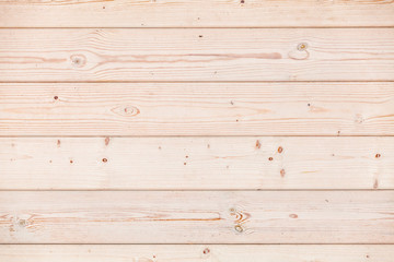New wooden wall made of pine wood planks, texture