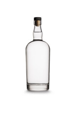 Glass Gin Bottle - No Label