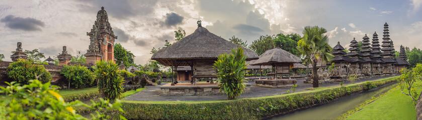 Traditional balinese hindu Temple Taman Ayun in Mengwi. Bali, Indonesia - fototapety na wymiar