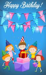 Happy Birthday Children card