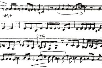 背景 楽譜