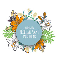 tropical floral bunch 4
