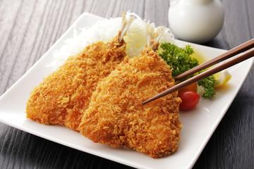 アジフライ Japanese deepfriedbreadedhorsemackerel