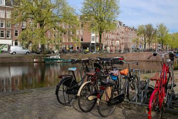 Amsterdam, Panoramic view, cityscape