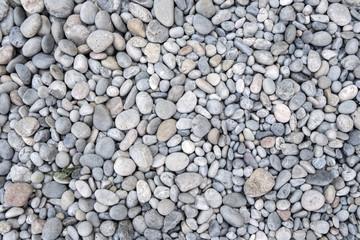 Beach stones background