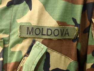 Moldova army uniform. Moldovan troops