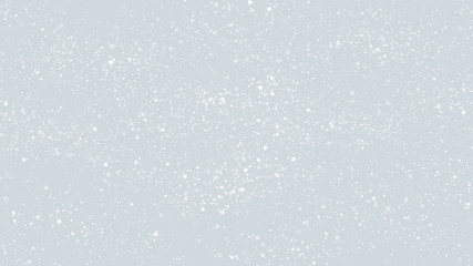 White Glitter Particles Background
