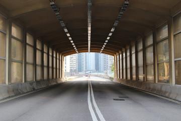 Sha Tsui Rd and Chai Wan Kok high way