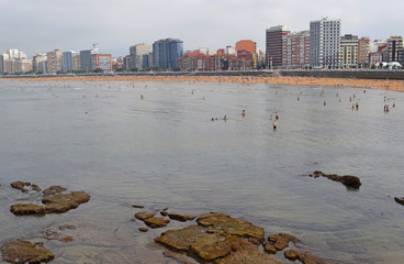 Playa de Gijon España