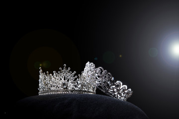 Diamond Silver Crown Miss Pageant Beauty Contest