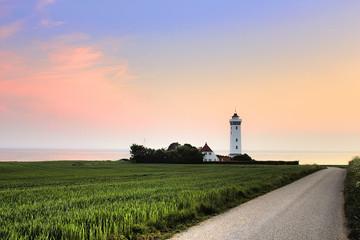 Helnæs Lighthouse, Denmark