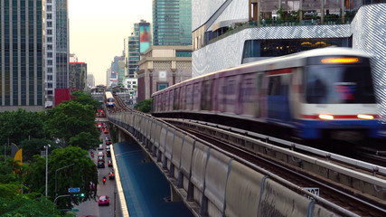 Bangkok Skytrain  - Commercially Usable