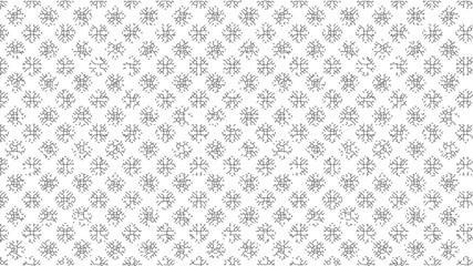水稲によるパターン (ラインアート) / Pattern based on Rice Plants (Line Art)