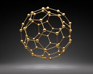 Goldener Nanoball