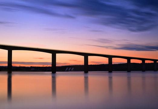 Vejle Fjord Bridge, Denmark
