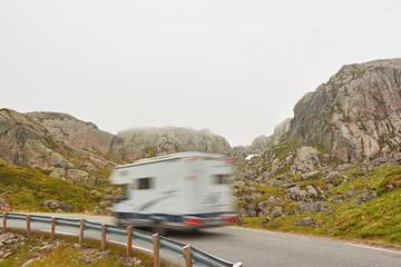 mit dem Wohnmobil durch Norwegen